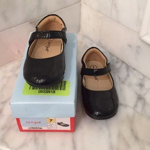 Cat and Jack Tabby Black Toddler Shoe - Patent